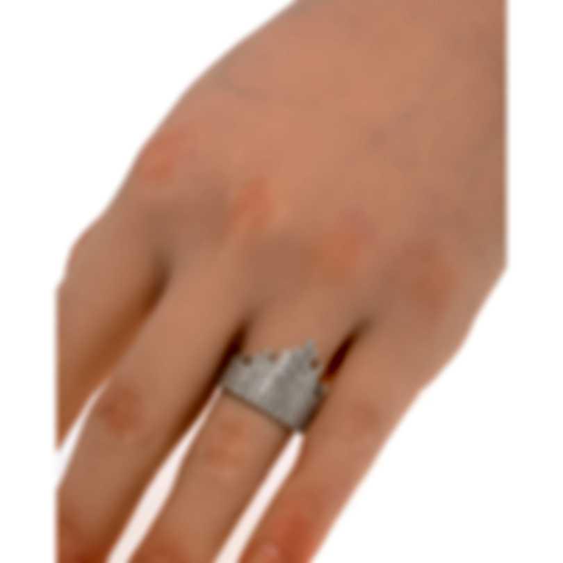 Messika Daria 18k White Gold Diamond 1.66ct Ring Sz 7 V014101