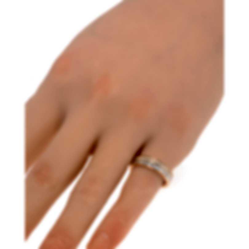 Messika Liz 18k Rose Gold Diamond 1.23ct Ring Sz 6.25 V014258