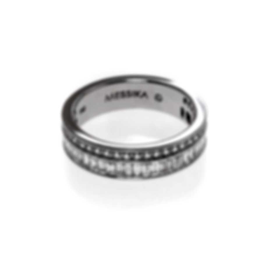 Messika Liz 18k White Gold Diamond 1.15ct Ring Sz 6.5 V014261