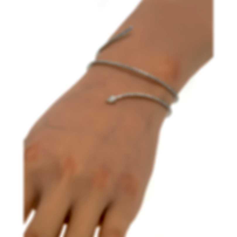 Messika Snake 18k White Gold Diamond 2.22ct Bracelet V014224