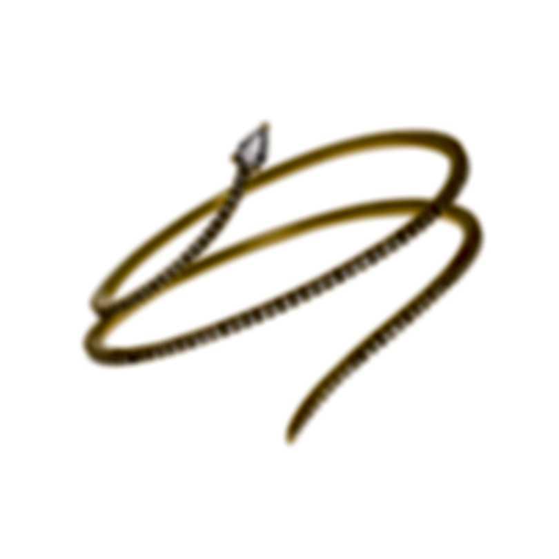 Messika Snake 18k Yellow Gold Diamond 2.06ct Bracelet V014226