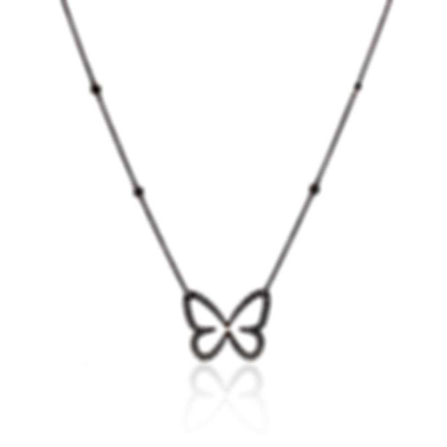 Messika Butterfly 18k Yellow Gold Diamond 0.53ct Necklace V014342