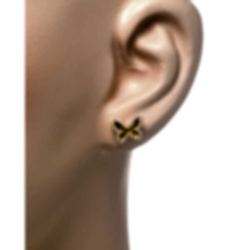 Messika Butterfly 18k Yellow Gold Diamond 0.26ct Earrings V014337