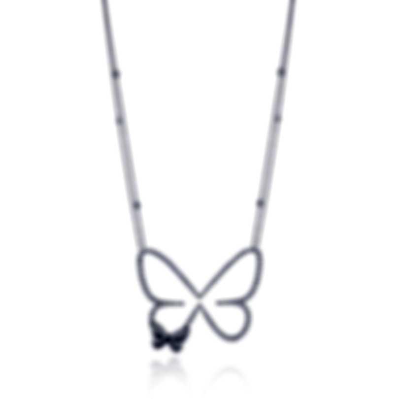 Messika Butterfly 18k Black Gold Diamond 2.65ct Necklace V014339