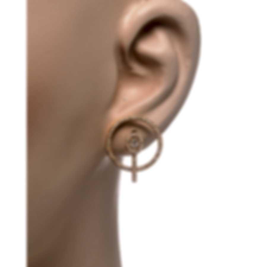 Messika Glam'Azone 18k Rose Gold Diamond 0.75ct Earrings V014440