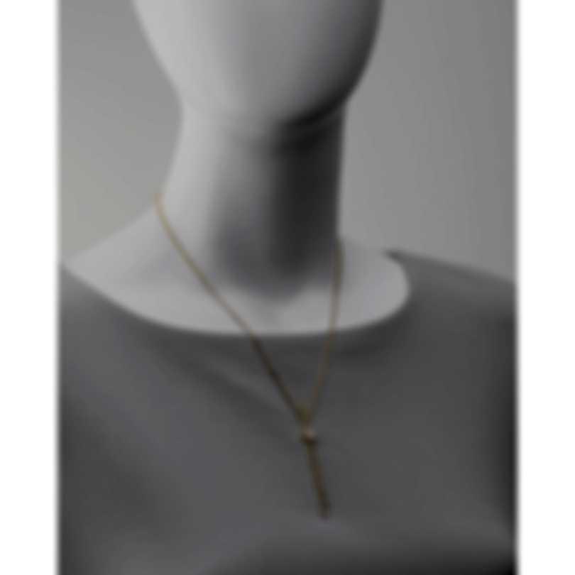 Messika Glam'Azone 18k Yellow Gold Diamond 0.91ct Necklace V014456