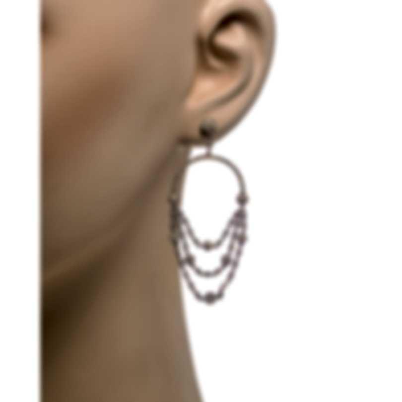 Messika Joy 18k Black Gold Diamond 1.83ct Earrings V014496