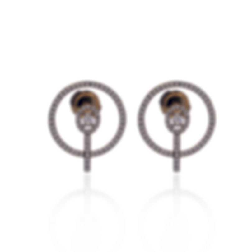 Messika Glam'Azone 18k Yellow Gold Diamond 0.84ct Earrings V014431