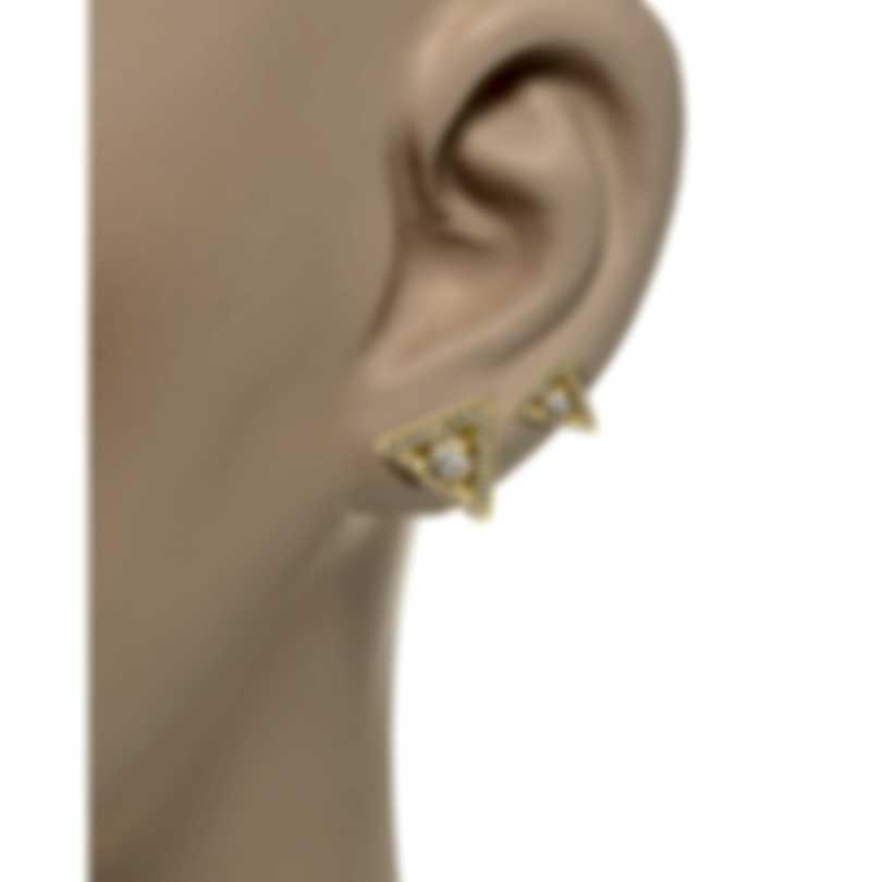 Messika Thea Toi & Moi 18k Yellow Gold Diamond 0.54ct Earrings V014542