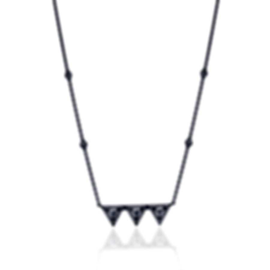 Messika Thea Toi & Moi 18k White Gold Diamond 0.48ct Necklace V014565