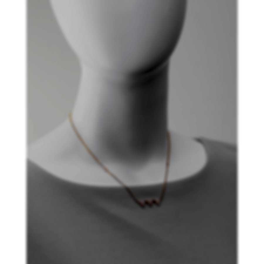Messika Thea Toi & Moi 18k Rose Gold Diamond 0.55ct Necklace V014576