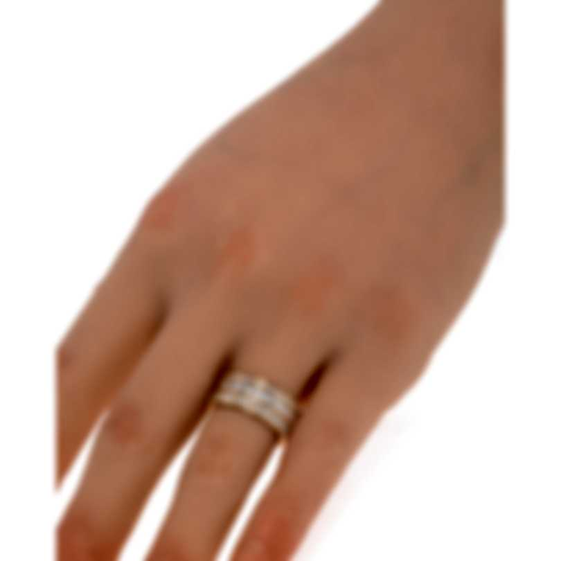 Messika Liz 18k Rose Gold Diamond 1.79ct Ring Sz 6.5 V014513