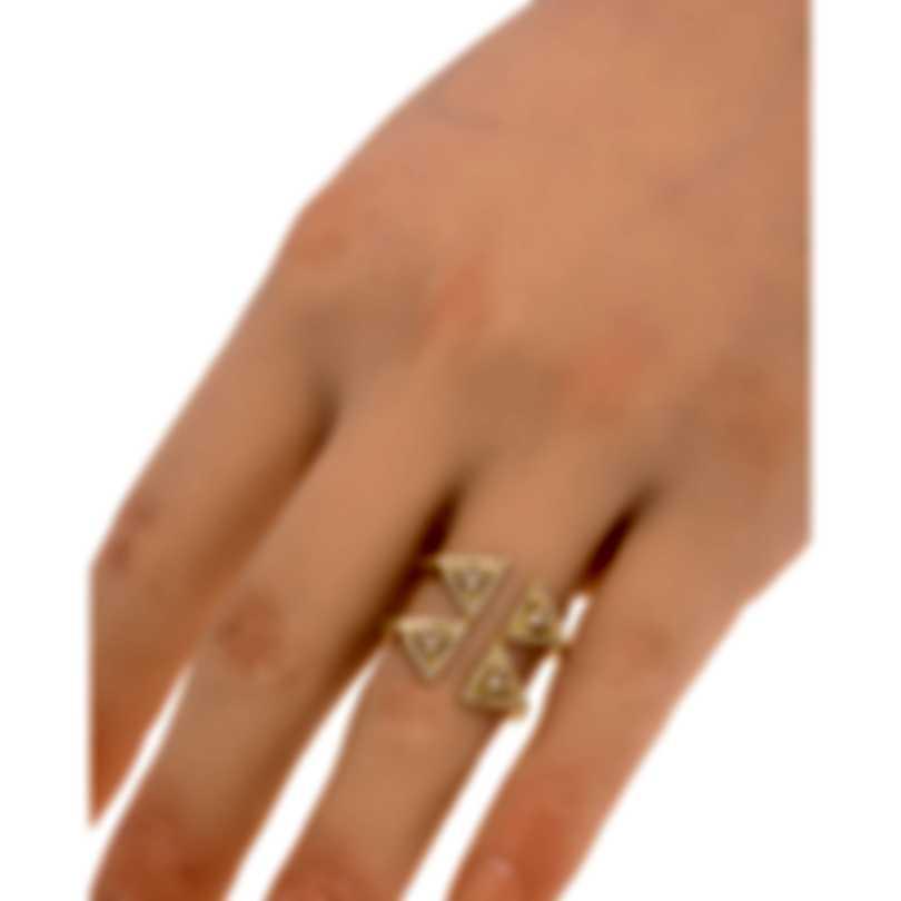 Messika Thea Toi & Moi 18k Yellow Gold Diamond 0.67ct Ring Sz 6 V014517