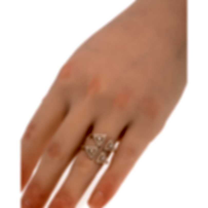Messika 18K Pink Gold Cravate Diamond Tie Necklace-64