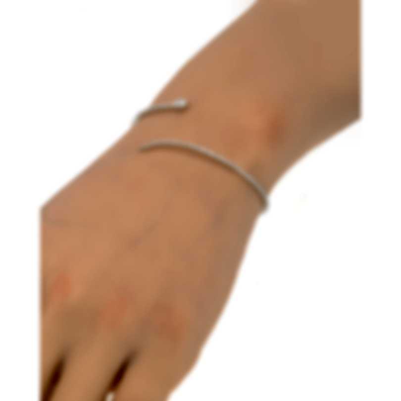 Messika Snake 18k White Gold Diamond 0.91ct Bracelet V014526