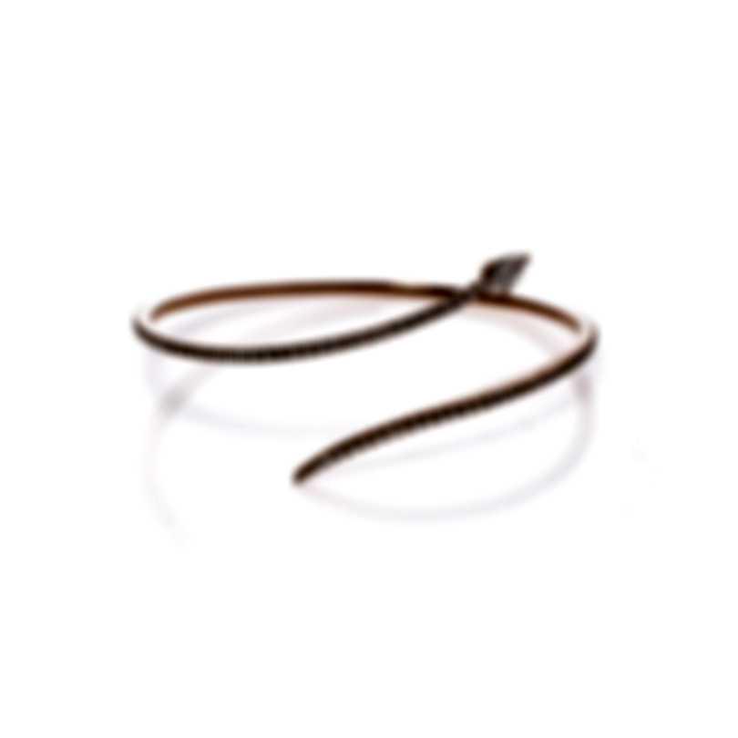 Messika Snake 18k Rose Gold Diamond 0.91ct Bracelet V014529