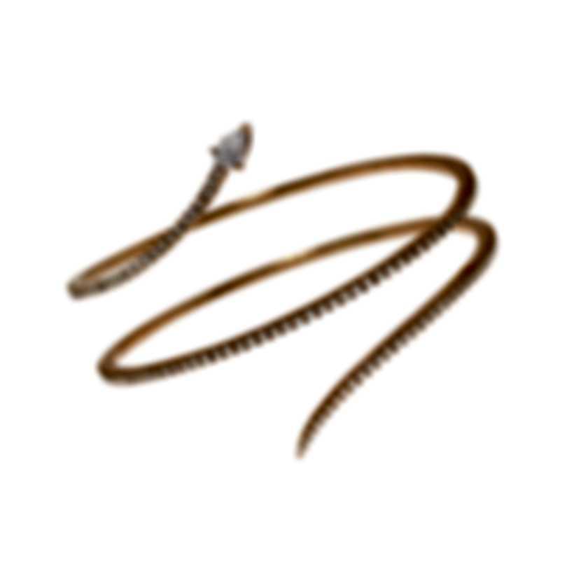 Messika Snake 18k Rose Gold Diamond 2.06ct Bracelet V014537