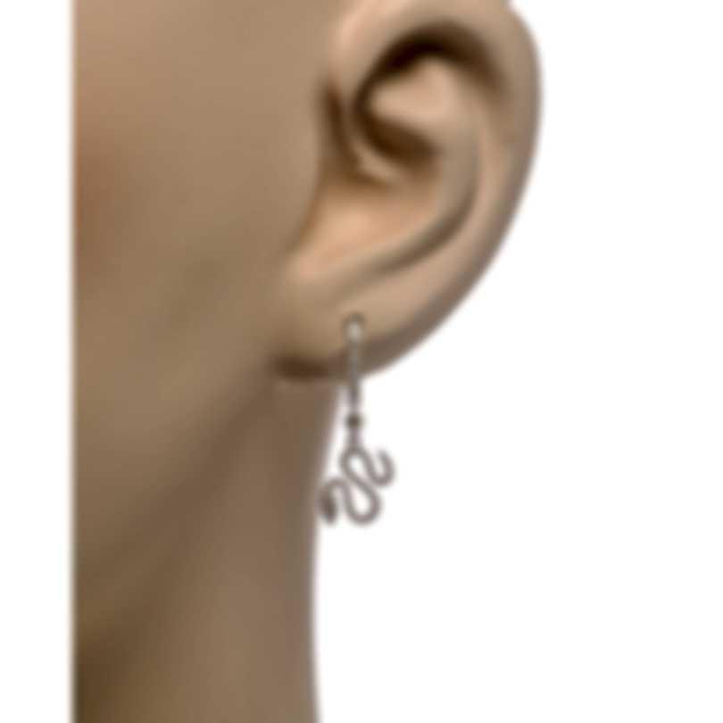 Messika Snake 18k White Gold Diamond 0.42ct Earrings V014534