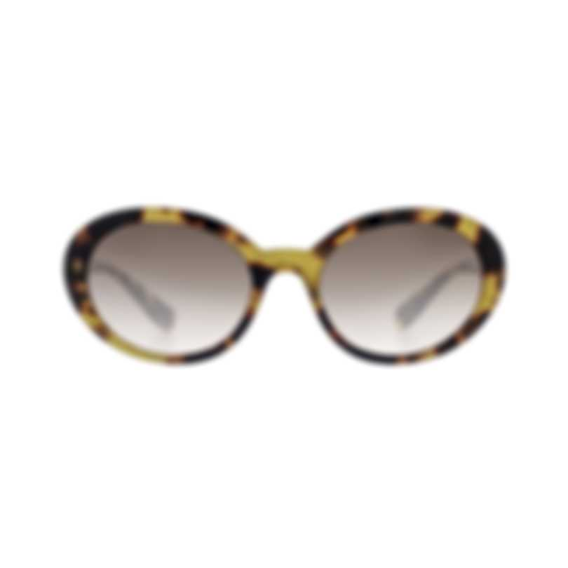 Miu Miu Tortoise Gray Women's Acetate Sunglasses MU01US-7S0QZ9