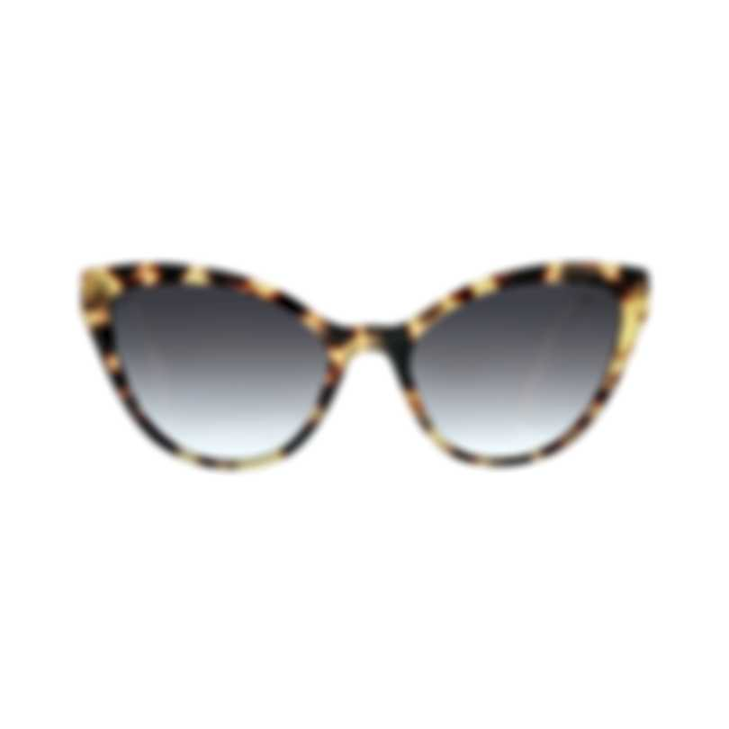 Miu Miu Havana Gray Women's Acetate Sunglasses MU03US-7S05D1
