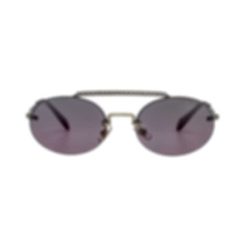 Miu Miu Pale Gold And Pink Women's Metal Sunglasses MU60TS-ZVN095