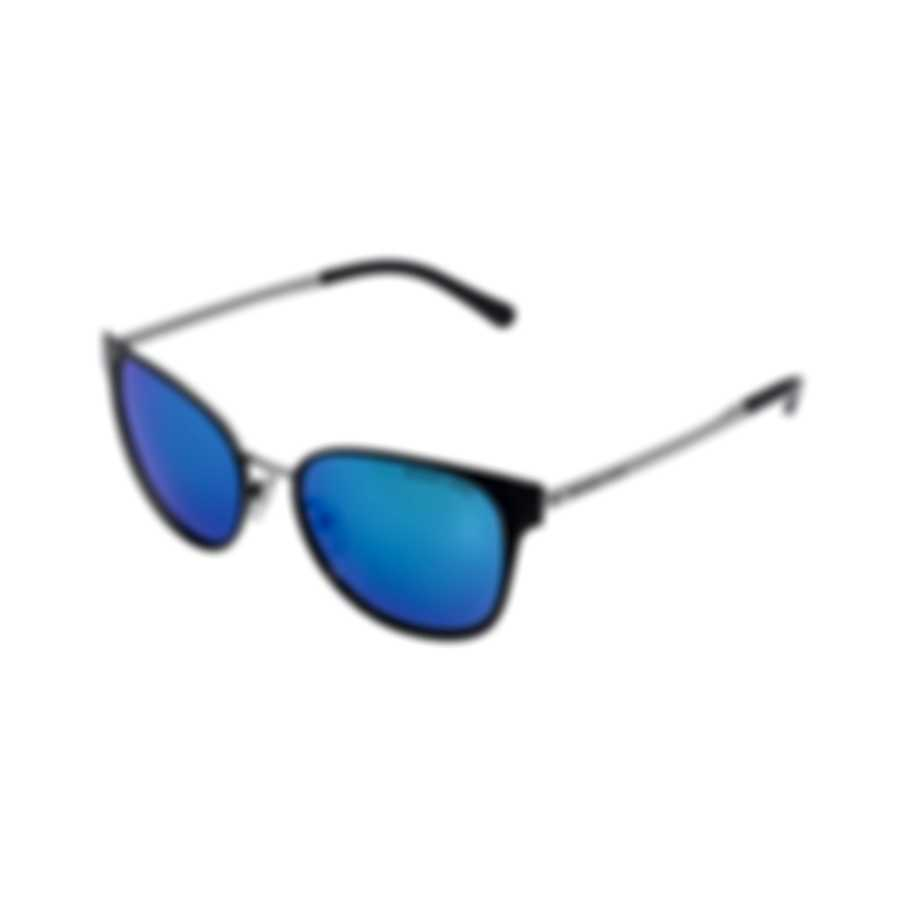 Michael Kors Black And Silver Cobalt Mirror Sunglasses MK1022-118525