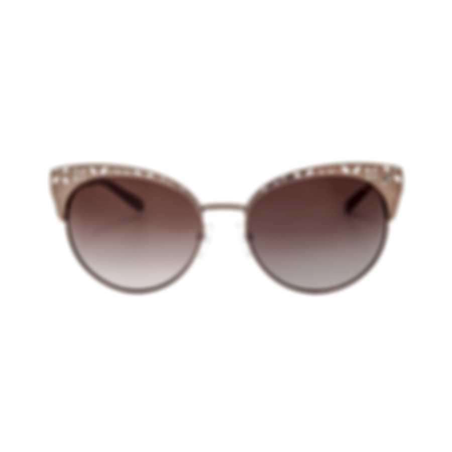 Michael Kors Women's Satin Sable And Gradient Brown Sunglasses MK1023-119013