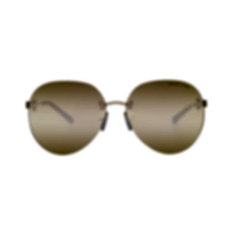 Michael Kors Yellow Gold Women's Metal Sunglasses MK1037-12127J