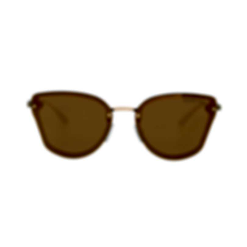 Michael Kors Gold Mirror Women's Acetate Metal Sunglasses MK2068-30094Z