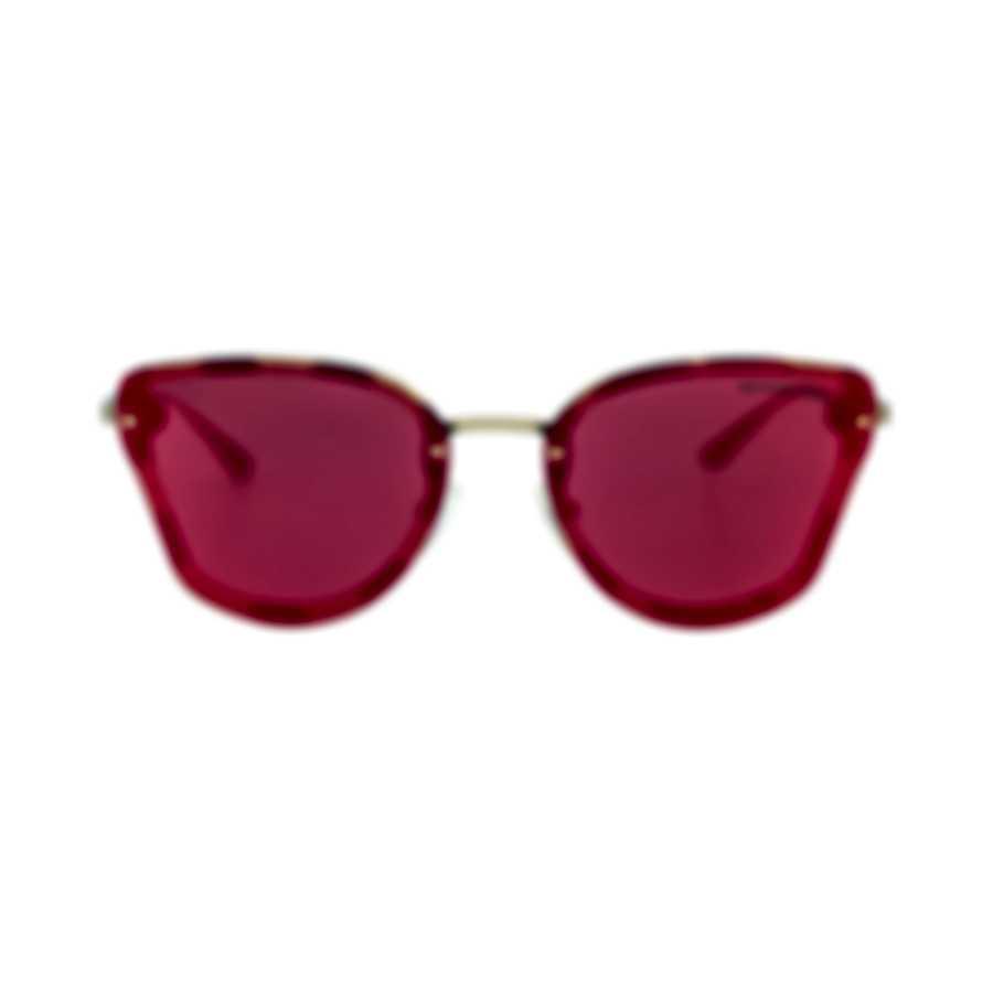 Michael Kors Amber Tortoise And Gold Women's Metal Sunglasses MK2068-33516Q