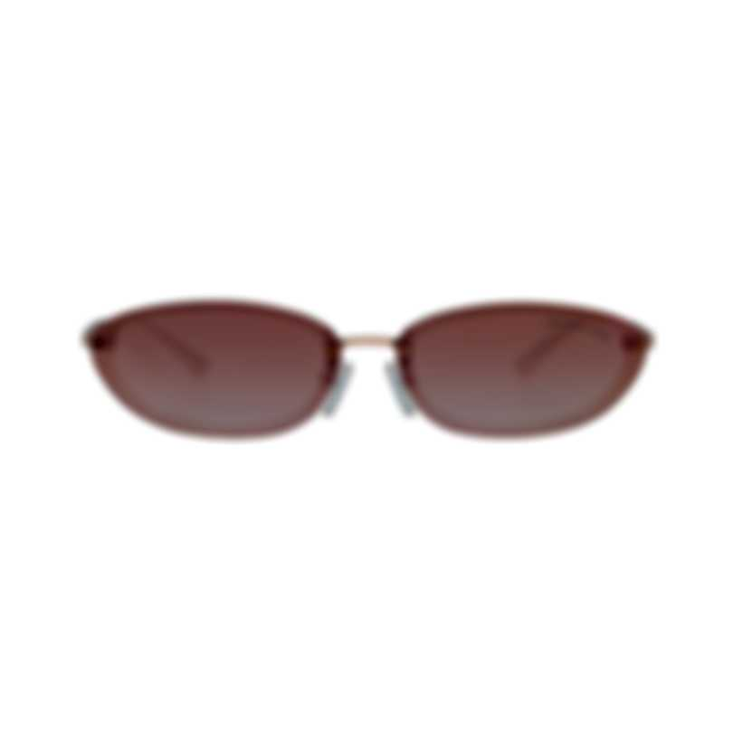 Michael Kors Rose Gold And Peach Women's Acetate Sunglasses MK2104-34686F