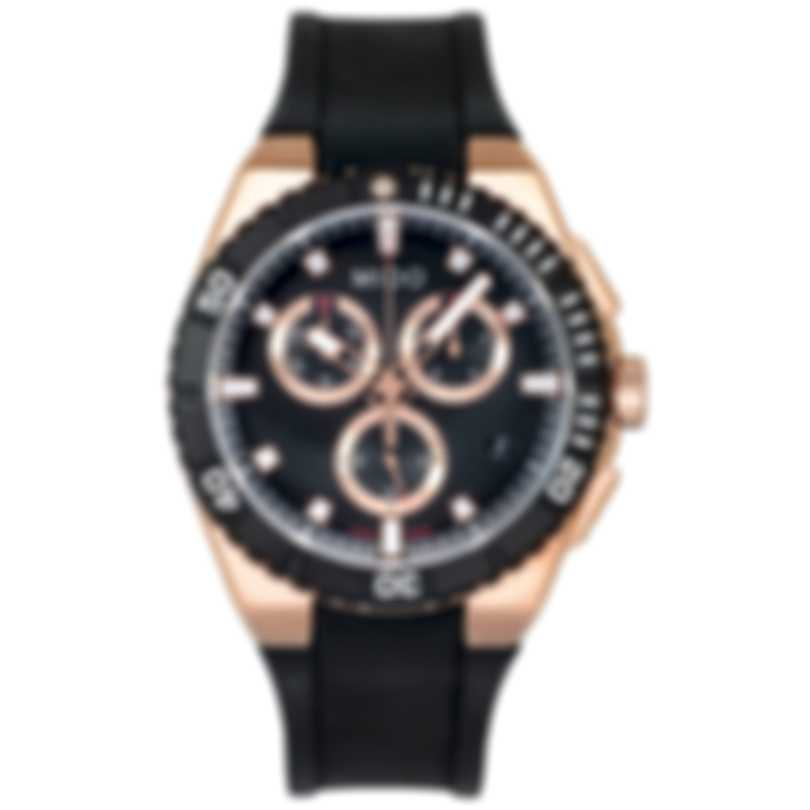 Mido Ocean Star Captain Rose Gold PVD Quartz Men's Watch M023.417.37.051.00