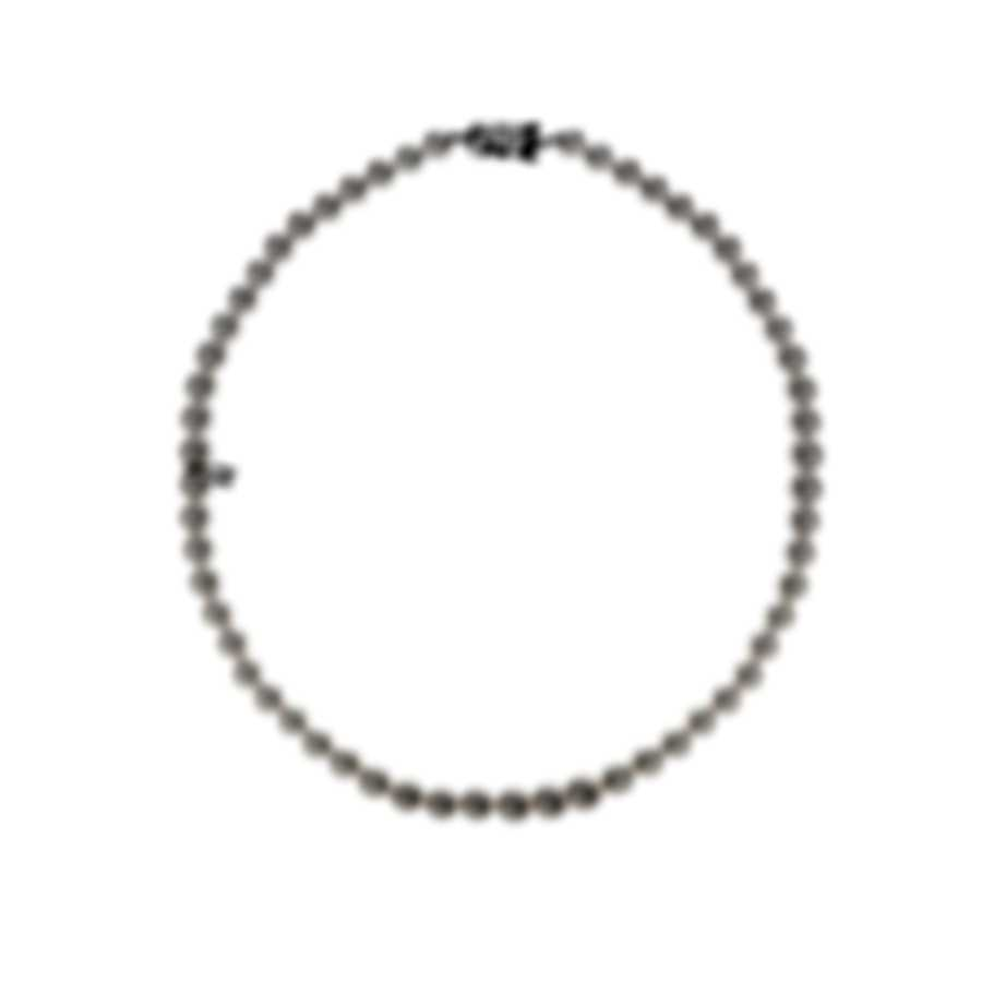 Mikimoto 18k White Gold And Akoya Pearl Necklace U75318W