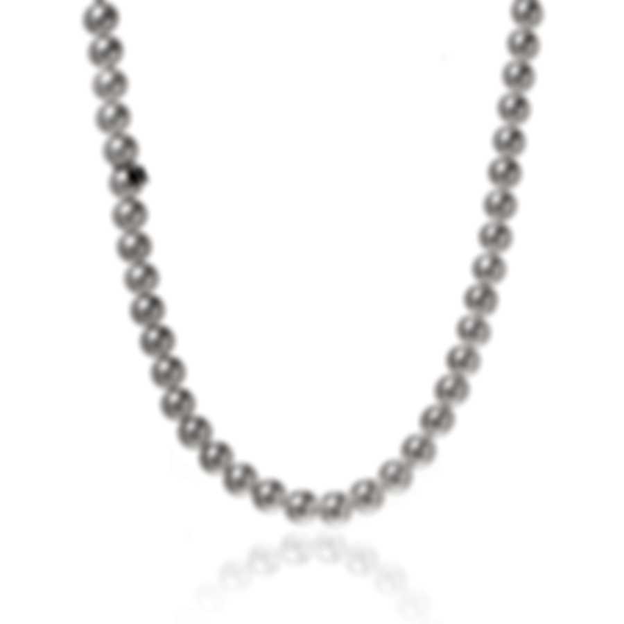 Mikimoto 18k White Gold And Akoya Pearl Necklace U85118W