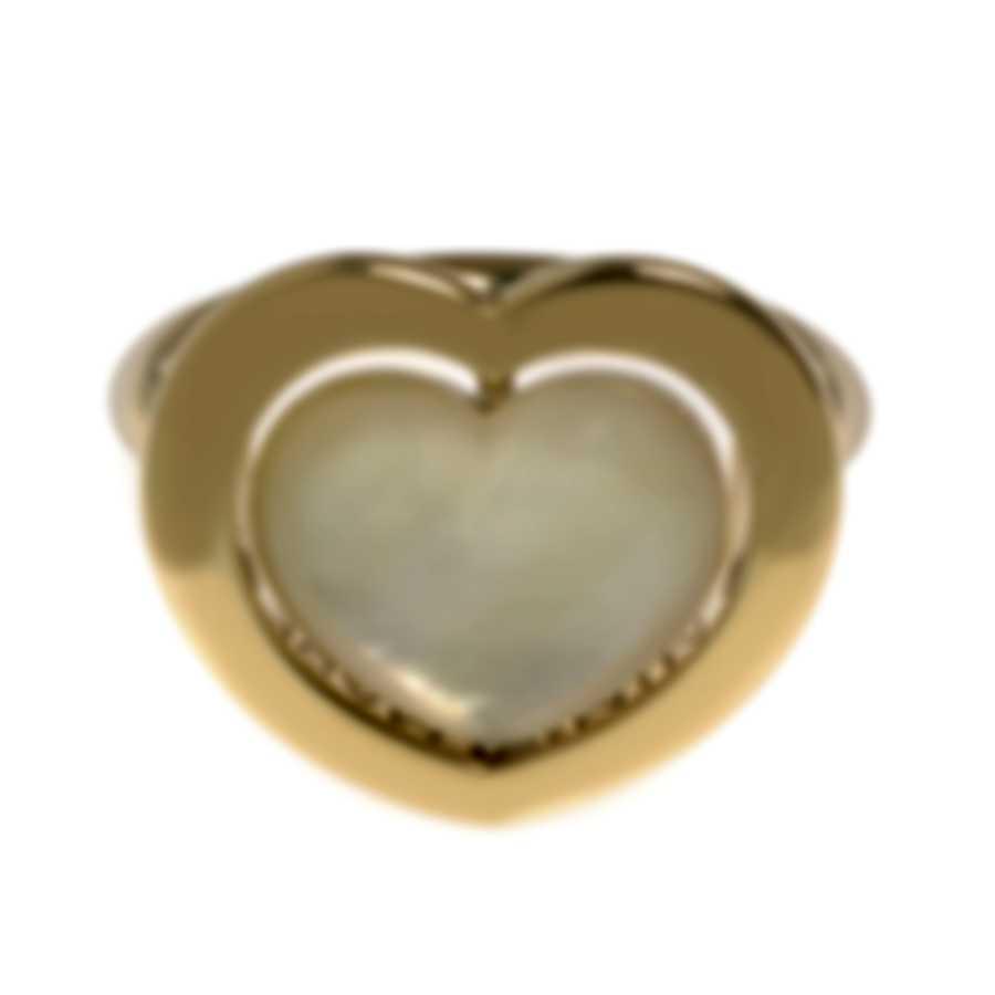 Mimi Milano Giulietta E Romeo 18k Yellow Gold And Citrine Ring Sz 6.25 ALM308G8C