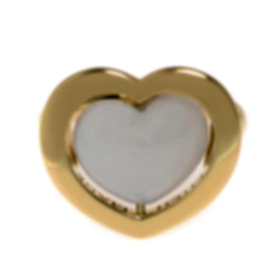 Mimi Milano Giulietta E Romeo 18k Yellow Gold Quartzite Ring Sz 6.25 ALM308G8Q1
