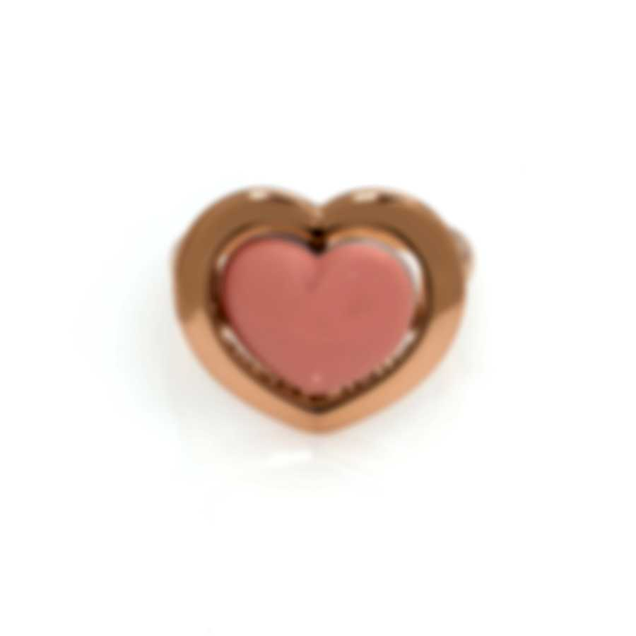 Mimi Milano Giulietta E Romeo 18k Rose Gold And Coral Ring Sz 6.5 ALM308R8P2