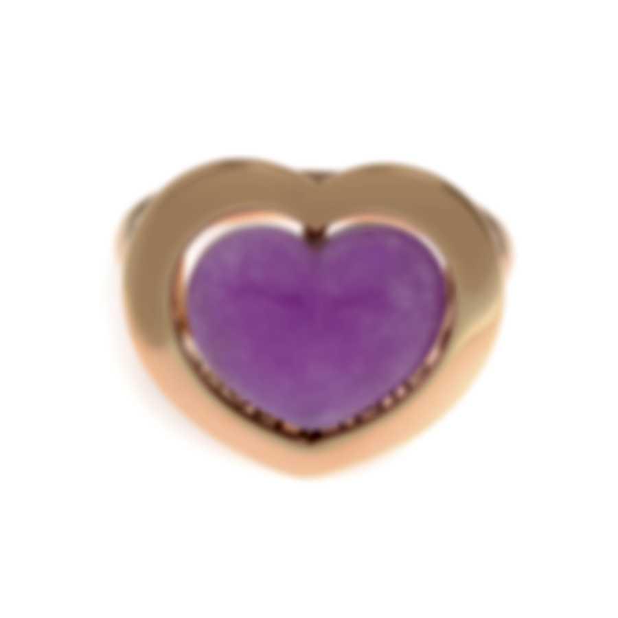 Mimi Milano Giulietta E Romeo 18k Rose Gold Quartzite Ring Sz 7 ALM308R8Q10