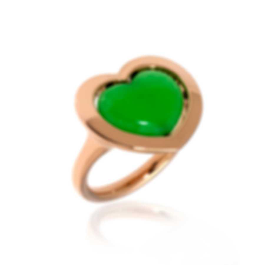 Mimi Milano Giulietta E Romeo 18k Rose Gold & Quartzite Ring Sz 6.5 ALM308R8Q7