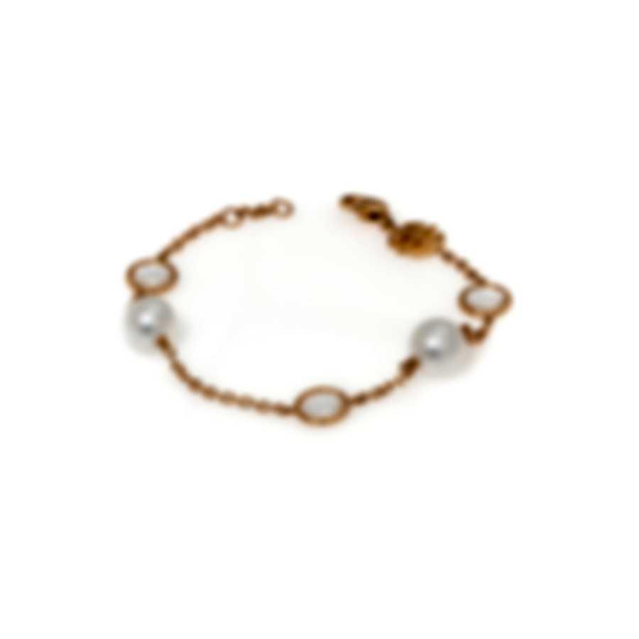 Mimi Milano EN 18k Rose Gold And Rock Crystal Bracelet B171R1J