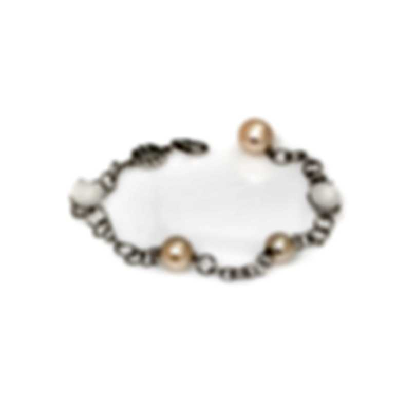 Mimi Milano Leela 18k White Gold And Quartz Bracelet B265B1QL