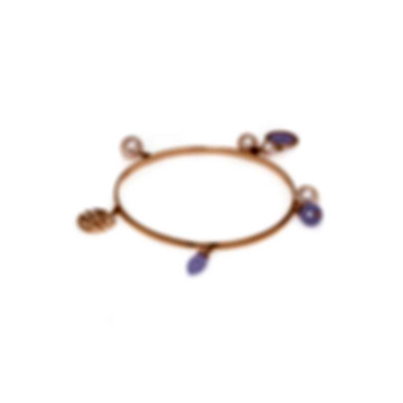 Mimi Milano Gocce 9k Rose Gold And Jade Bracelet B218R3L-L