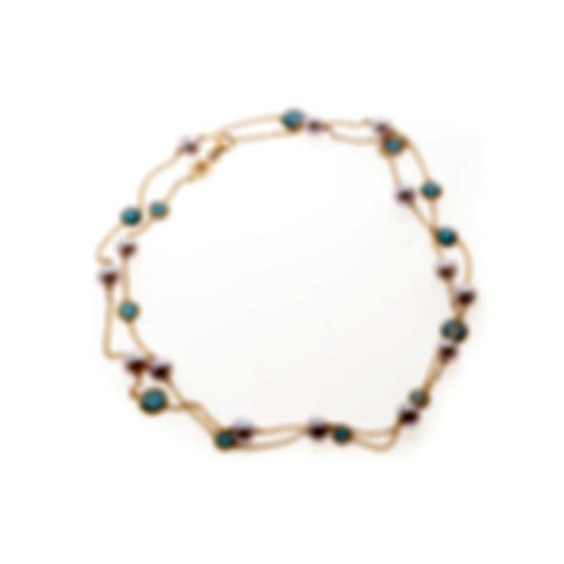 Mimi Milano EN 18k Yellow Gold And Pearl Necklace C171R1J-C
