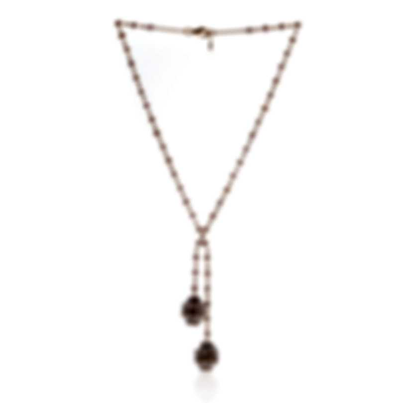 Mimi Milano Garbo 18k Rose Gold And Pearl Necklace C244C3Z