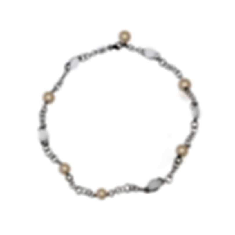 Mimi Milano Leela 18k White Gold And Pearl Necklace C266B1QL