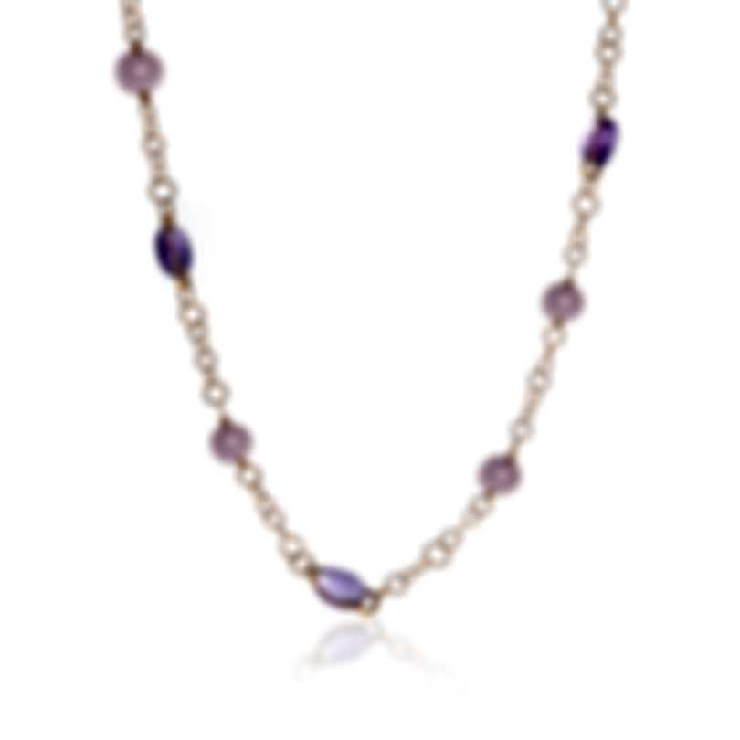 Mimi Milano Leela 18k Rose Gold And Pearl Necklace C266R3A