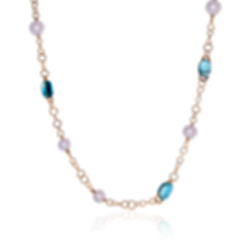 Mimi Milano Leela 18k Rose Gold And Pearl Necklace C266R3T