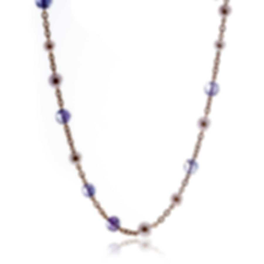 Mimi Milano St Tropez 18k Rose Gold And Pearl Necklace C209R3A