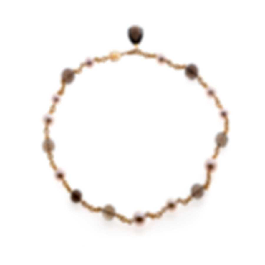 Mimi Milano St Tropez 18k Rose Gold And Pearl Necklace C209R3F