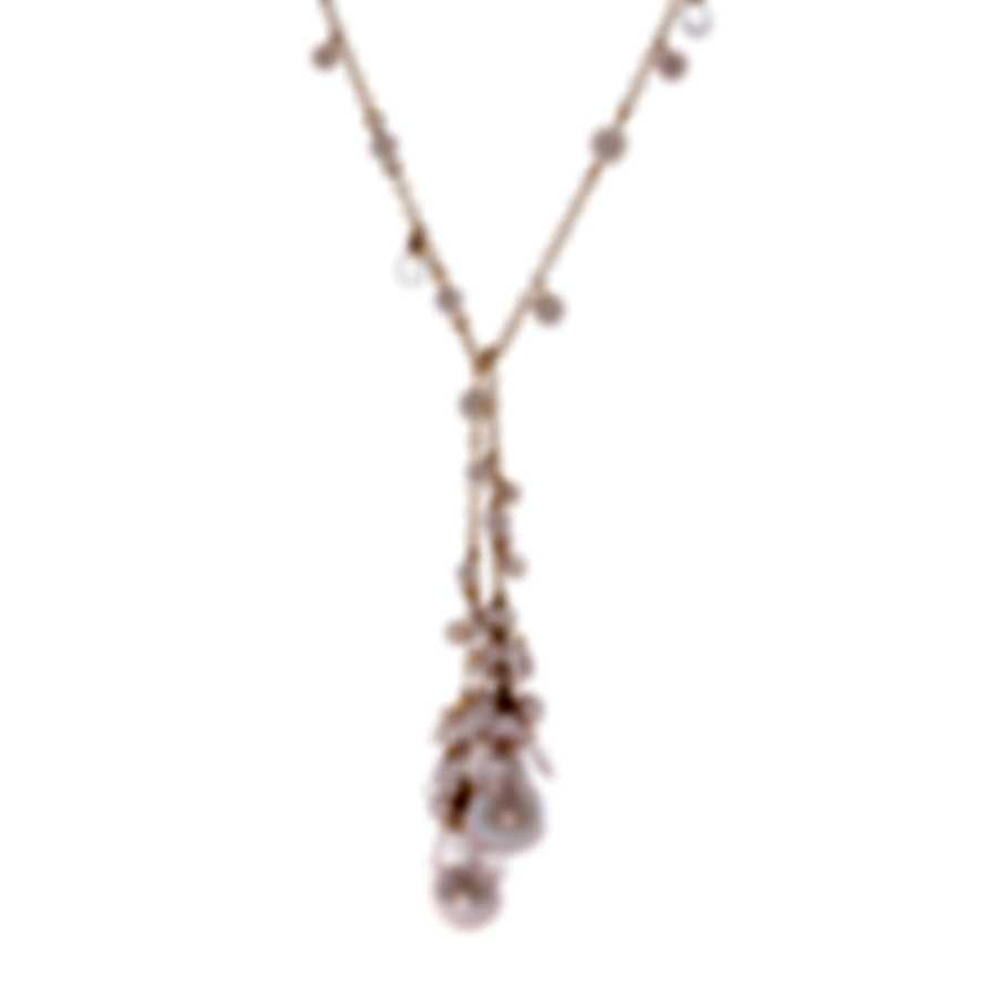 Mimi Milano St Tropez 18k Rose Gold And Pearl Necklace C212R2Q